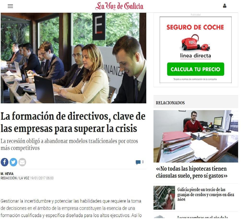 LA FORMACIÓN DE DIRECTIVOS