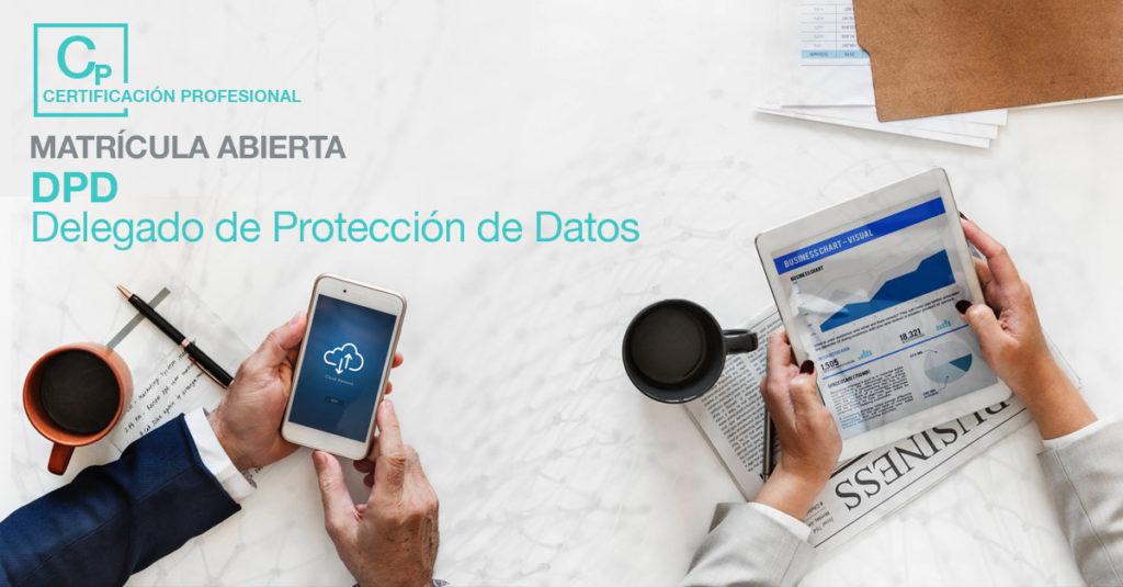 Matrícula abierta Curso de delegado de protección de datos