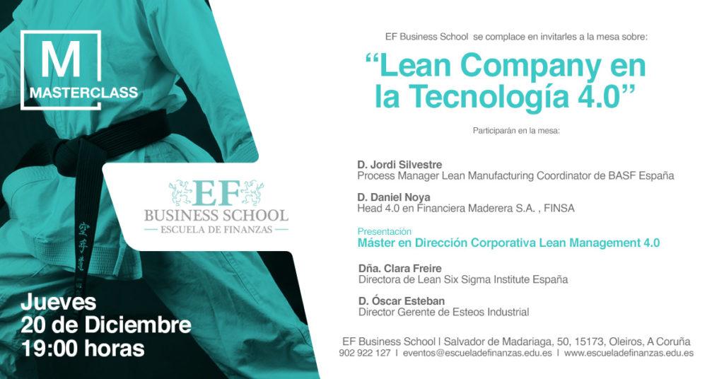 Lean Company en la tecnología 4.0