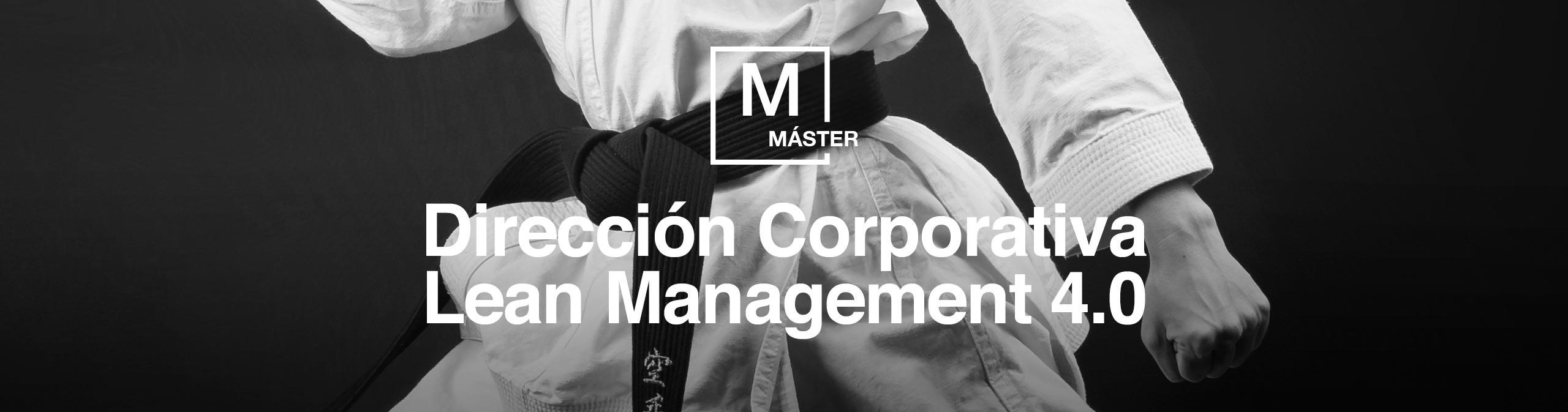 Cabecera Master Dirección Corporativa
